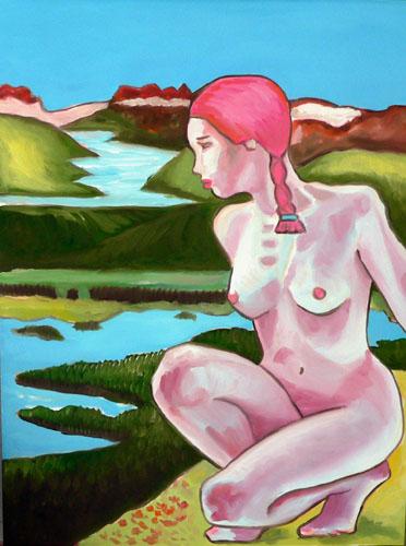 nude-woman-overlooking-glacier-in-alaska (69k image)
